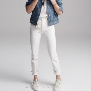 MADEWELL | The Perfect Summer Jean in White